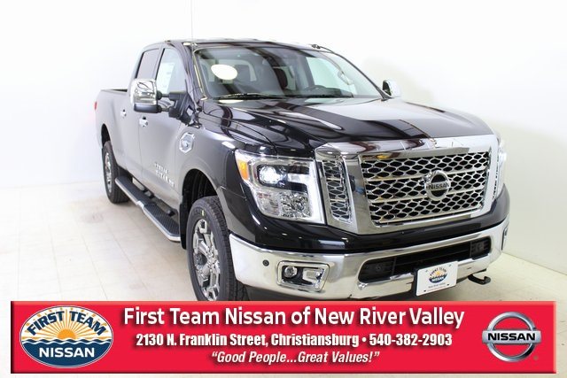 New Nissan Titan >> New 2019 Nissan Titan Xd Sl With Navigation 4wd