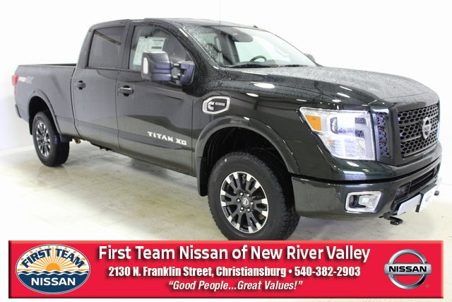 New Nissan Titan >> New 2019 Nissan Titan Xd Pro 4x With Navigation 4wd