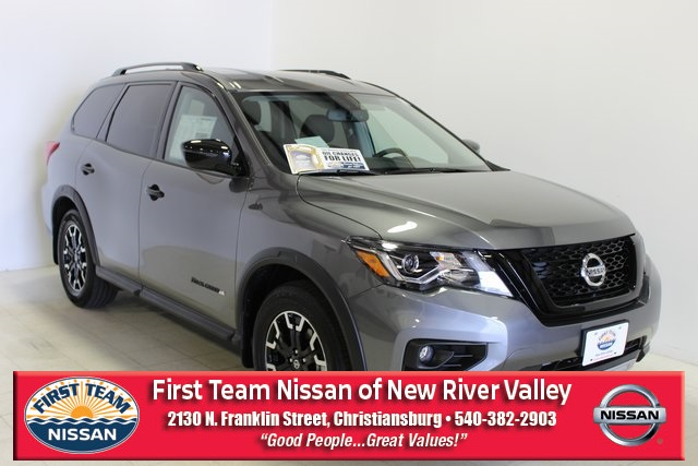 First Team Nissan >> New 2019 Nissan Pathfinder Sv 4d Sport Utility In Christiansburg